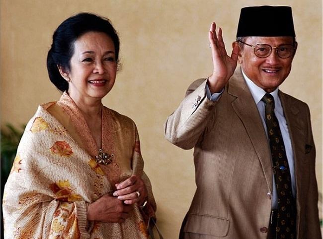 B.J. Habibie dan Ibu Ainun